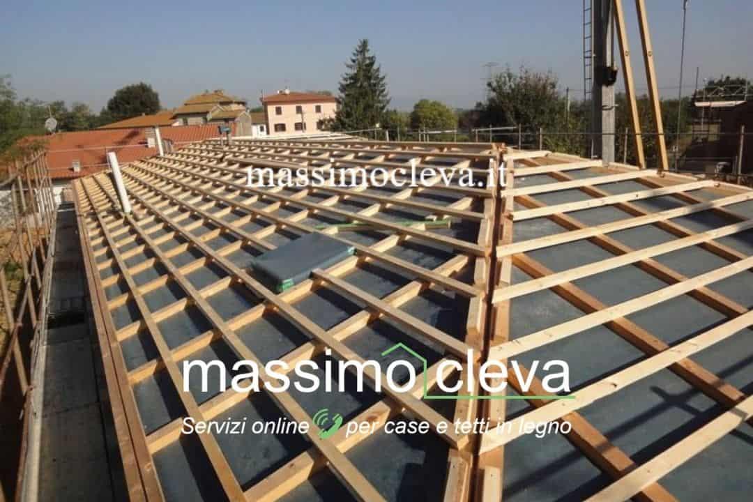 sistema doppio tetto esempio di posa - fase 6